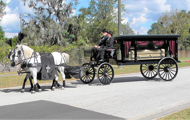 Funeral Service Misty Blue Acres Carriage Company